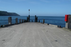 The Landing Jetty on Lundy