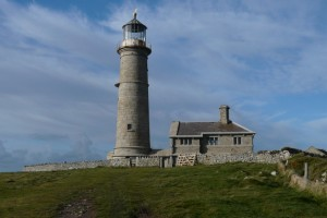 The Old Light on Lundy